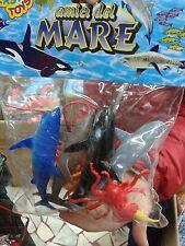 Kit busta animaletti del mare pesci gioco ottima qualita giocattolo toy