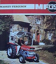 Älteres Blechschild Massey FergusonTraktor Agrar Reklame Werbung gebraucht used
