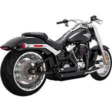 Escape Para Harley-Davidson Softail 2018-Up Vance Hines Shortshots Black 47235