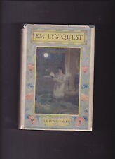 EMILY'S QUEST. By L. M. Montgomery.  Stokes: 1927. F- HC/ G DJ: RARE.