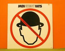 MEN WITHOUT HATS - FOLK OF THE '80'S (PART III) - MCA 1984 EX VINYL LP RECORD