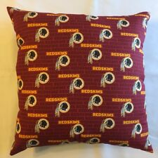 """NEW 15"""" WASHINGTON REDSKINS COMPLETE NFL PILLOW LICENSED FOOTBALL GIFT- STYLE 2"""