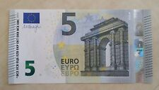 EUROPEAN UNION 5 Euro 2013 (Spain V) P20v Draghi UNC Banknote