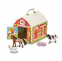 Melissa  Doug  Latches Barn Toy