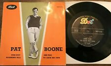 PAT BOONE STAR DUST DENMARK EP 45 W PS  BLUEBERRY HILL EBB TIDE TO EACH HIS OWN