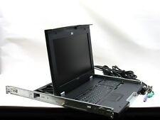 "HP TFT7600 RKM 1U Rackmount Keyboard and Monitor 17"" WXGA+ AG052A"