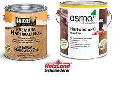 OSMO oder SAICOS Hartwachs Öl - diverse Farben/Glanzgrade - 0,375 / 0,75 / 2,5 L