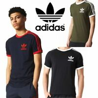 New Adidas Originals California T Mens Sports Casual Tee Cotton T-Shirt rrp £35