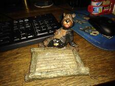 New listing vintage bear ashtray holder, no ashtray