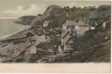 Steephill Cove, Isle of Wight F.G.O. Stuart 159 Postcard B800
