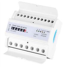 Digital DIN Schienen Stromzähler 3-Phasen 4-Wire 20 (80A) Elektronisch KWh-Meter