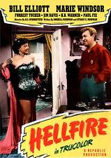 Hellfire (1949) DVD Bill Elliott, Marie Windsor, Forrest Tucker, Jim Davis COLOR