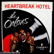 THE ORLONS-Rules Of Love+Heartbreak Hotel-Rare 60's Picture Sleeve-CAMEO #C-319