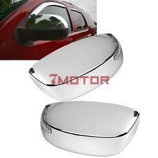 Upper Half Chrome Mirror Cover For Chevy Silverado Avalanche Tahoe Suburban 7M
