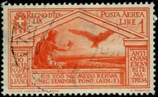 Italy 1930 stamps air mail USED Sas A22 CV $60.50 180617288
