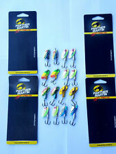 LOT OF 16 PANTHER MARTIN HOLOGRAPHICS SPINNERS  SIZE 4 and SIZE 6 lot trout