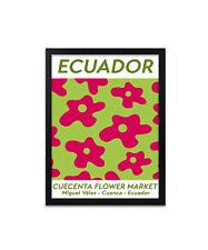 Ecuador Flower Market print, poster, prints, posters, wallart, gift, gifts