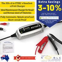CTEK XS 0.8 12V Battery Charger Portable Car Electric Trickle Motorbike 12 Volt