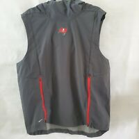 $150 NWT NIKE NFL TAMPA BAY BUCCANEERS FLY RUSH HOODED VEST MENS SIZE MEDIUM