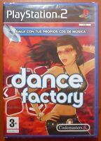 Dance Factory, PlayStation 2 PS2 PStwo, Pal-España ¡¡NUEVO Y PRECINTADO!!