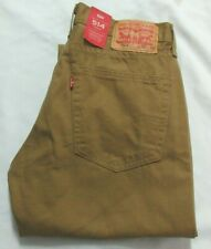 Levi's 514 Straight Khaki  Men Jeans 30 X 32