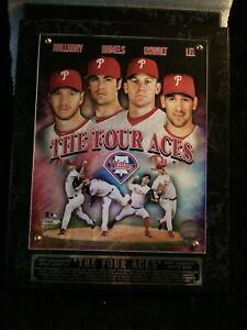 "Philadelphia Phillies The Four Aces Plaque 13 x 10 1/2"""