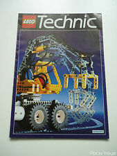 Catalogue dépliant Lego Technic 1992