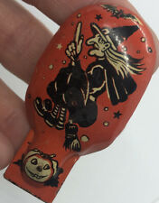 US metal toy noise maker halloween Witch Broom Bat Pumpkin JOL WORKS #5