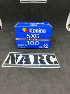 KONICA SXG 100  35mm film expired film