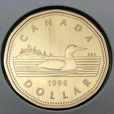 1996 Canada Specimen Loonie One Dollar Canadian Uncirculated Coin C498