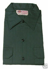 Dickies 574 Linc Green Long Sleeve Work Shirt Med NWT