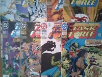 DC COMICS - JUSTICE LEAGUE TASK FORCE - 1993 - VARIOUS ISSUES