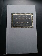 william shakespeare the sonnets & narrative poems MINT hardcover
