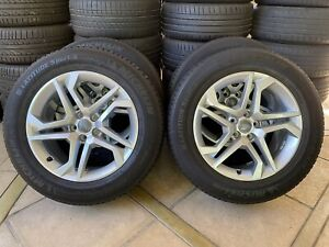 """AUDI GENUINE FACTORY 18"""" Q5 DESIGN Wheels and Tyres 235/60R18 (SET OF 4) 5x112"""