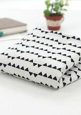 By the Metre Geometric 100% Cotton Quilting Craft Fabrics