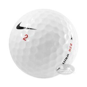 100 Nike RZN Palline da golf usate 4/5 Stelle (AAA/PEARL) used golf balls