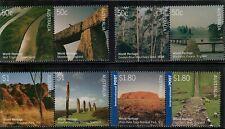 Australia,Scott#2370a+237 2a+2374a+2376a,Mnh,Unesco World Heritage Sites,