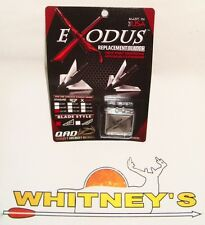 QAD Exodus 125 Gr. Replacement Blades : Full-BR125-F