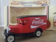 Lledo LP13064, Model A Ford Van, Drink Coca Cola (Label Finish)