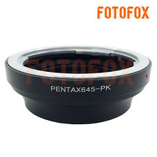 For Adapter Ring Tube Pentax 645 Mount Lens to Pentax PK Camera K5 K7 Km K200D