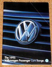 1995 VW RANGE Sales Brochure inc Golf GTI VR6 Corrado Polo Passat Caravelle