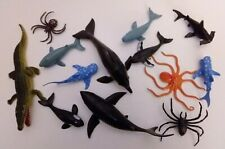 Marine Animal Kids Toy Lot