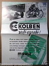 MAHLE Pistone gallina ROSE Meyer Gall Caracciola 1938 Stoccarda BMW OPEL Hanomag
