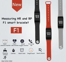 EPIC TIME-Fitness Blood Pressure Heart Rate Monitor Smart Watch Bracelet-RED