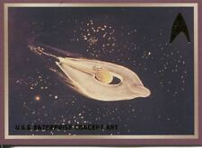 Star Trek 50th Anniversary TOS Enterprise Concept Art Chase Card E7