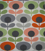 Orla Kiely oval flower tomato choice sizes fq 100 50 25cm square 1M more avail
