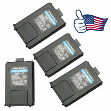 4Pack Orig. 1800mAh Battery for Baofeng Uv-5R Uv-5R Plus 5Ra Two-way Radio Usa