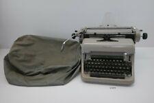 Alte Olympia Schreibmaschine Wilhelmshaven grau vintage Deko  #213876