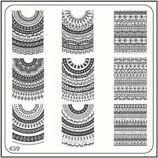 MoYou Nail Fashion Stamping Nail Art Image Plate 439 Ethnic Style Mandala