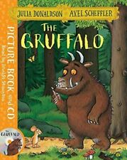 The Gruffalo Book and CD Pack by Julia Donaldson 9781509815128 (book 2016)